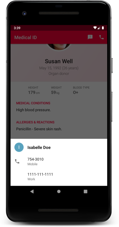 Medical ID - The Android app that could save your life!